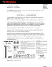 LDT Technical Bulletin